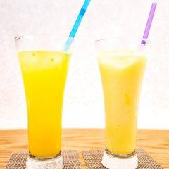 自家製フルーツジュース [ミルク割 / ソーダ割] 470円+税