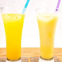 自家製フルーツジュース [ミルク割 / ソーダ割] 520円
